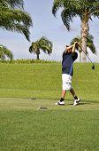 Golfe pré-adolescente
