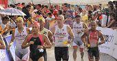 Ironman Filipinas maratón corrido la carrera