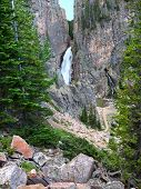 Porcupine Falls Of Wyoming