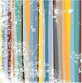 Grunge muli-colored stripes