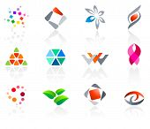 Set of different icons (part 8). Please see more in my portfolio.