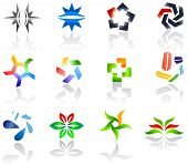Set of different icons for your design (part 3). Please visit my gallery to see similar.