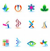 Set of different icons for your design (part 15). Please visit my gallery to see similar.