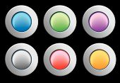 Gel Icon Buttons