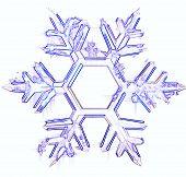 White Ice Snowflake