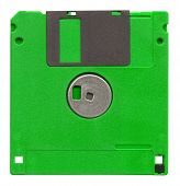 Diskette Isolated