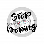 Stop Doping Icon. Anti-drug Concept. Vector Banner Or Poster poster