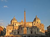 pic of spqr  - A view of Basilica Santa Maria Maggiore - Roma