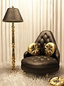 Luxurios Furniture In Design Interior