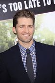 LOS ANGELES - MAY 14: Matthew Morrison at the premiere of 'What To Expect When You're Expecting' held at Grauman's Chinese Theater on May 14, 2012  in Los Angeles, California