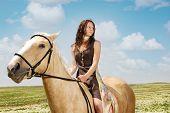 Serene Equestrienne