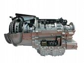 Heavy Truck Engine Transmission Part Isolated