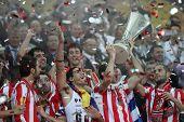 Celebration of winning