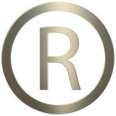 Gold Registered Trademark