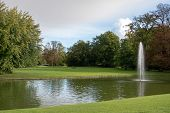 Frederiksberg Gardens (danish: Frederiksberg Have) Is One Of The Largest And Most Attractive Greensp poster