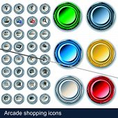 Arcade Shopping Icons