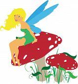 Vector Forest Fairy