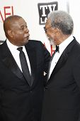 CULVER CITY - JUNE 9: Forest Whitaker, Morgan Freeman at the 39th AFI Life Achievement Award Honoring Morgan Freeman held at Sony Pictures Studios  in Culver City, California on June 9, 2011.