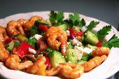 Greek-style Shrimp Salad