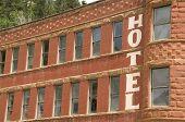 Hotel In Historic Deadwood, South Dakota poster