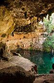 Cenote Zaci Mexico Valladolid Yucatan Peninsula Limestone
