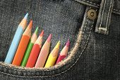 Pencils In A Pocket 04