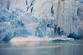 Glacier Calving,Sawyer Glacier