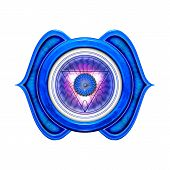 image of chakra  - Illustration of the seven main chakras - JPG