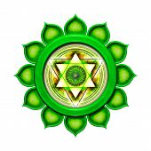 The Fourth Chakra isolated