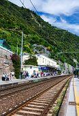 Corniglia Train Station, Cinque Terre