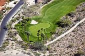 Desert Golf Course Hole