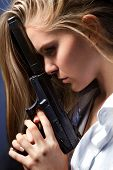 Girl With Pistol