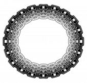 Oval Chain Frame