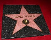 LOS ANGELES - MAR 7:  James Franco Star at the Hollywood Walk of Fame Ceremony honoring James Franco at the El Capitan Theater on March 7, 2013 in Los Angeles, CA