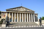 Assemblee Nationale (Palais Bourbon) - the French Parliament.