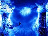 Abstract Ice Figure