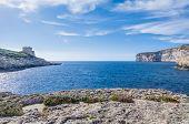 Xlendi Bay In Gozo Island, Malta.