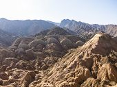 View Of Danxia Landform In Zhangye, Gansu Of China