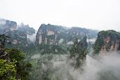 Natural Scenery of Zhangjiajie.
