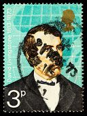 David Livingstone Famous Explorer Postage Stamp