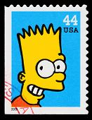 Simpsons-Tv-Show-Briefmarke