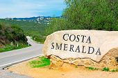 Costa Smeralda Sign