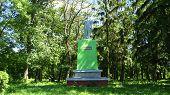 monument to the leader of world proletariat Lenin