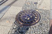 Sewer Manhole Cover In Berlin