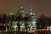 Berliner Dom Anf Festival Of Lights In Berlin