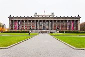 Front View Of Altes Museum (old Museum) In Berlin