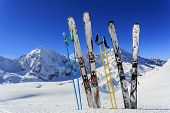 image of italian alps  - Skiing - JPG
