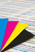 Cmyk Color Chip