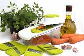 Preparing Carrot Salad