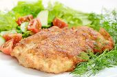 Schnitzel With Vegetables